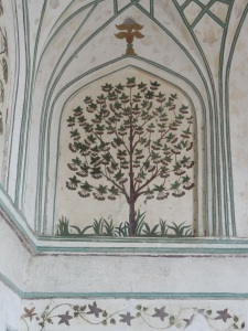 Example of the intricate stone work