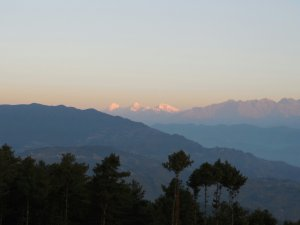Sunrise from Nagarkot