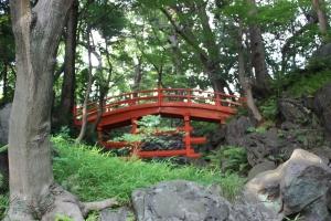 Tsuten-kyo bridge at Koishikawa Korakuen Gardens