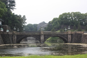 Nijubashi bridge at the Imperial Palace
