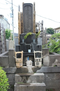 Typical family cemetery shrine