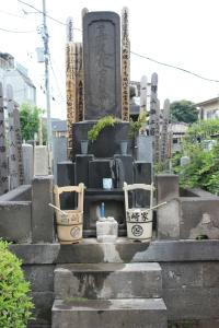 Typical family cemetery shrine