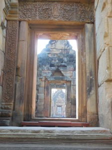 Doorways at Prasat Muang Tam